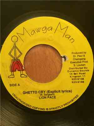 Lion Face / Short Wes - Ghetto Cry / Gal Want A Man